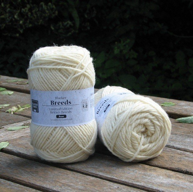 Aran Texel White - Blacker Yarns