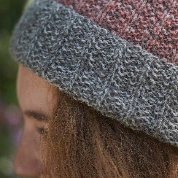 Atoll Hat CloseUp - Blacker Yarns