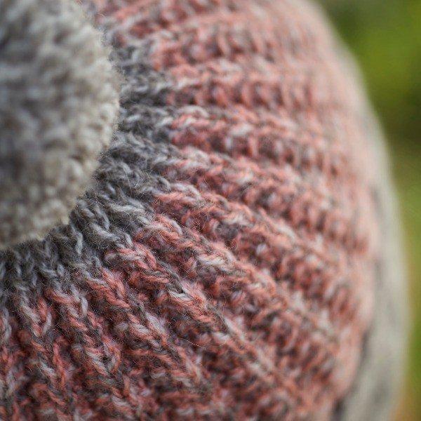 Atoll Hat Detail - Blacker Yarns