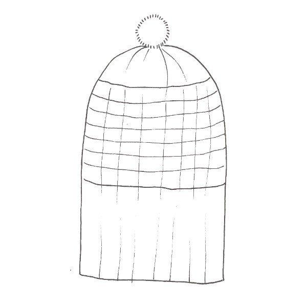 Atoll Hat Schematic - Blacker Yarns