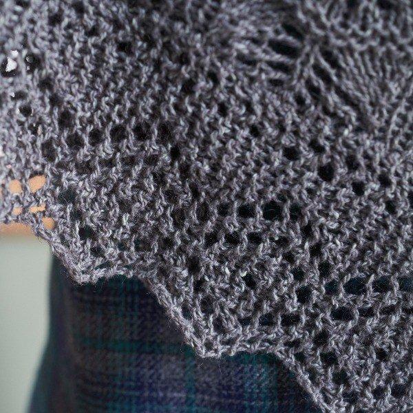 Balvraid Hap Closeup - Blacker Yarns