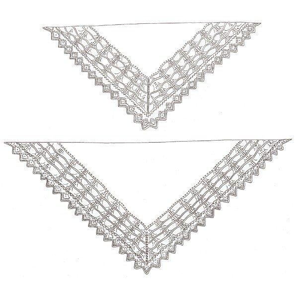 Balvraid Hap Schematic - Blacker Yarns
