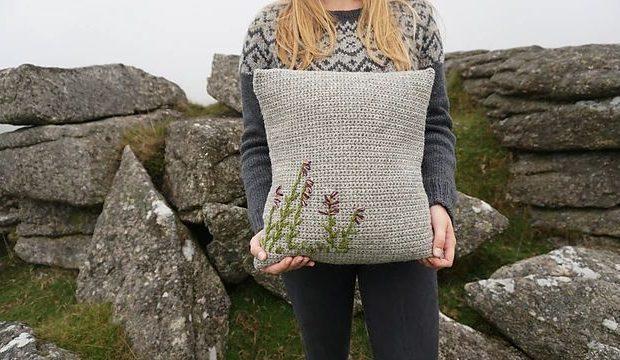Belstone Cushion Crochet Pattern