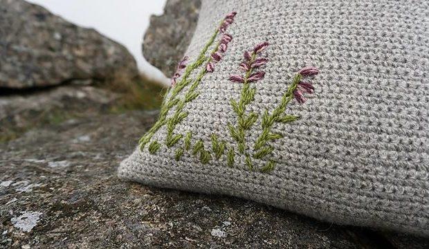 Belstone Cushion Crochet Pattern 2 - Blacker Yarns