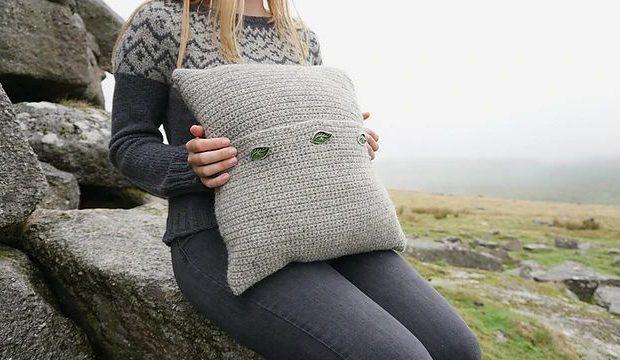 Belstone Cushion Crochet Pattern 3 - Blacker Yarns