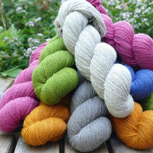 Blacker Yarns Cornish Garden 3-ply Yarn