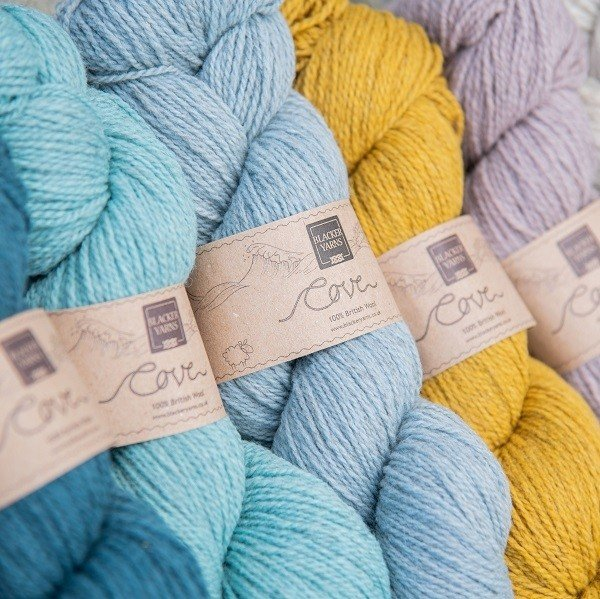 Blacker Yarns Cove 4-ply Knitting Yarn