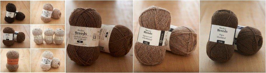 Blacker Yarns Fawn & British Yarns