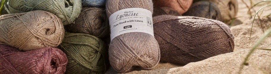 Blacker Yarns Lyonesse Linen Blend