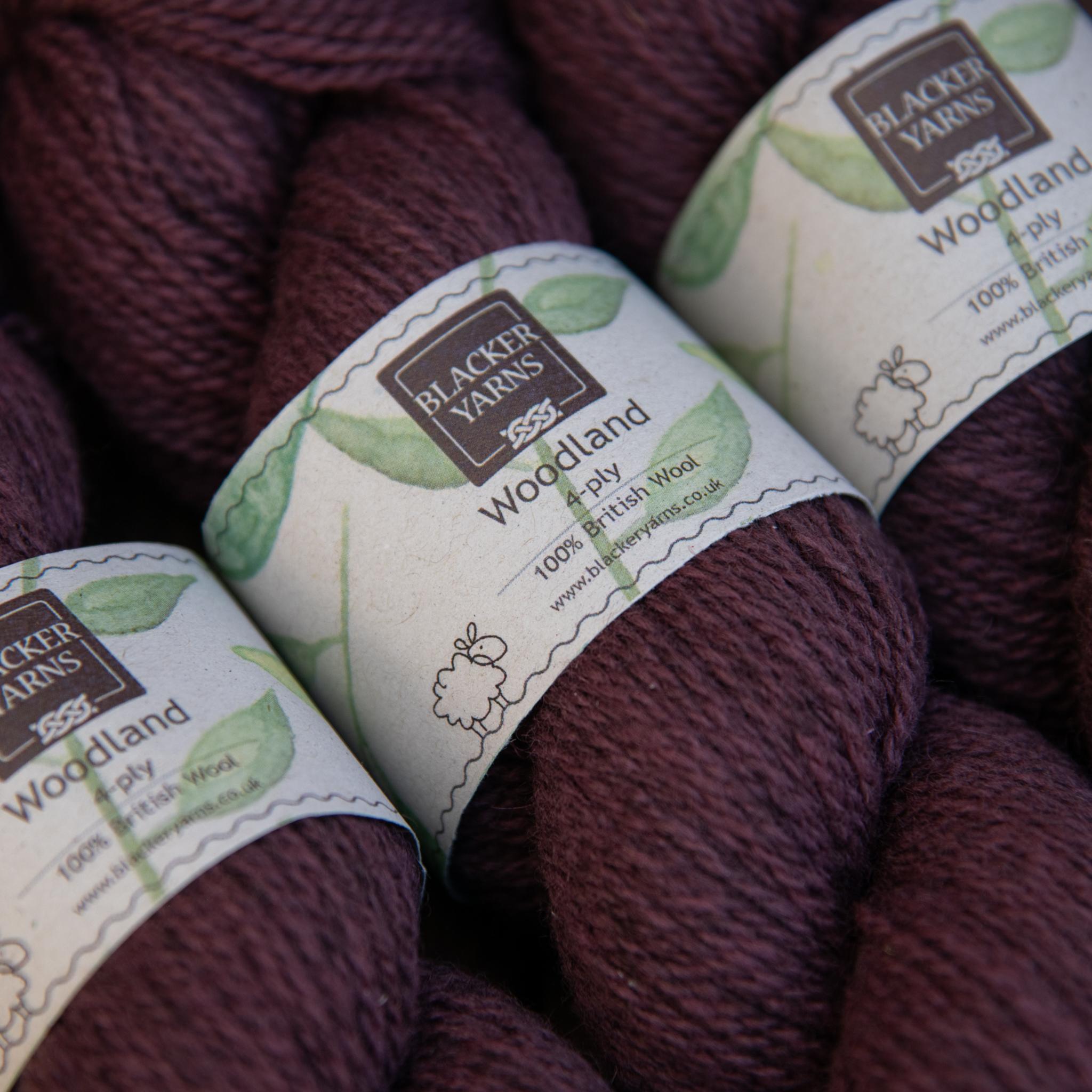 Blackeryarn Woodland 4 Ply Forest Berry - Blacker Yarns
