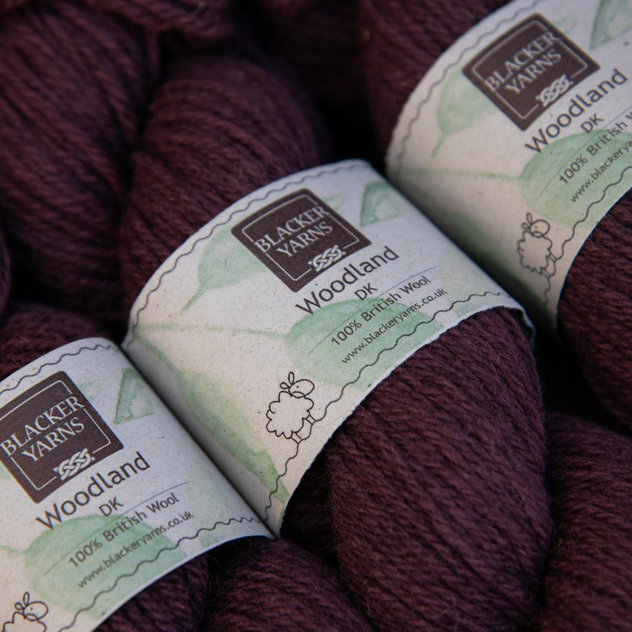 Blackeryarn Woodland DK Forest Berry - Blacker Yarns