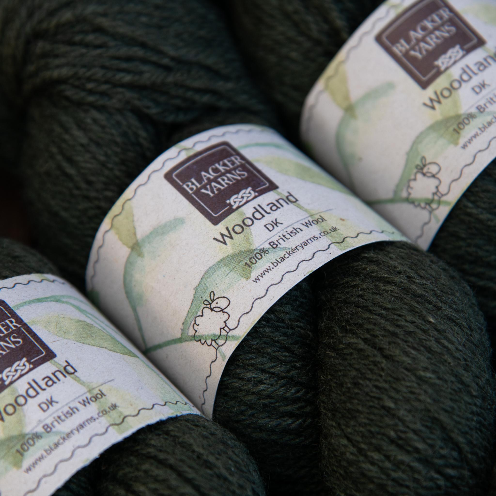 Blackeryarn Woodland DK Holly Bush - Blacker Yarns