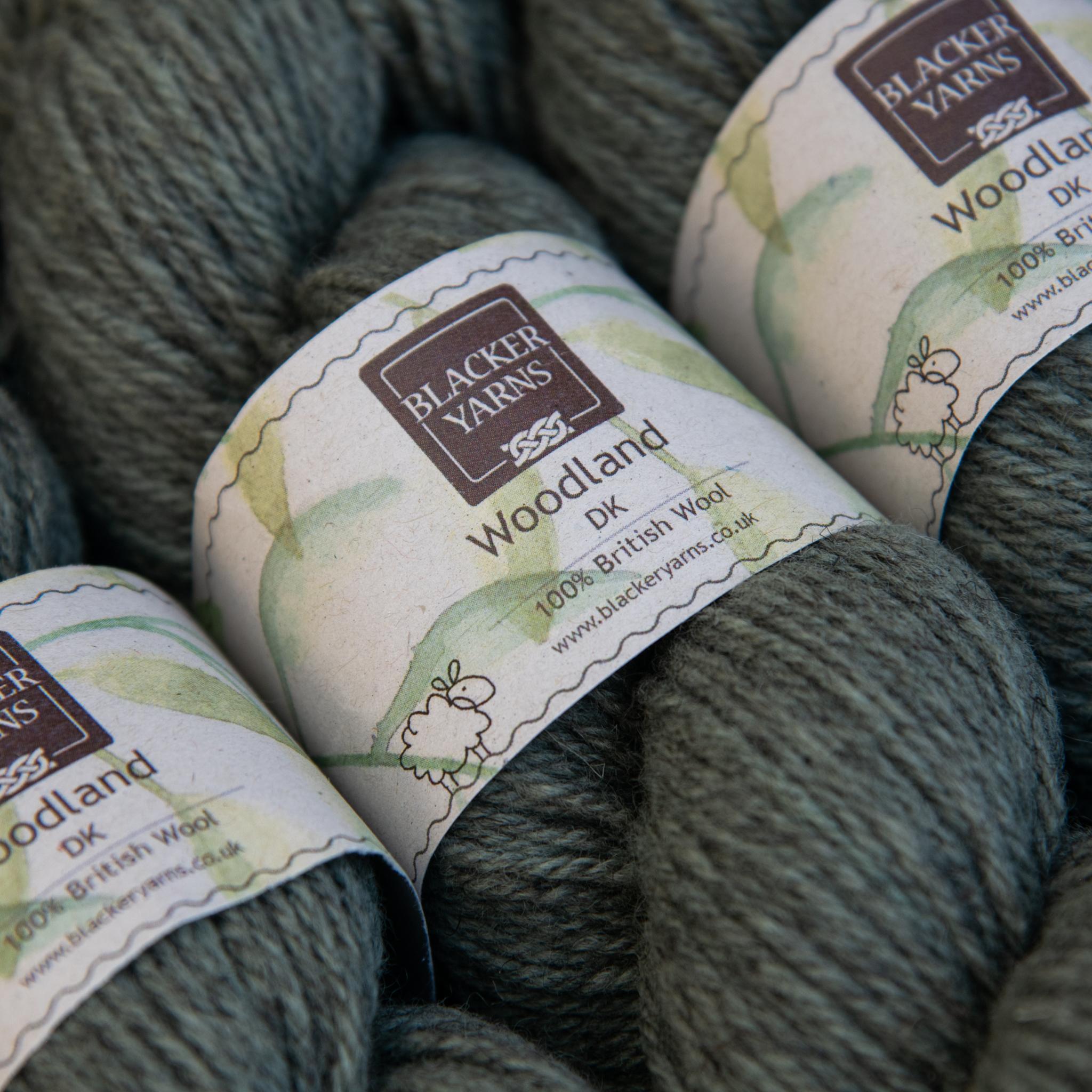 Blackeryarn Woodland DK Lichen - Blacker Yarns