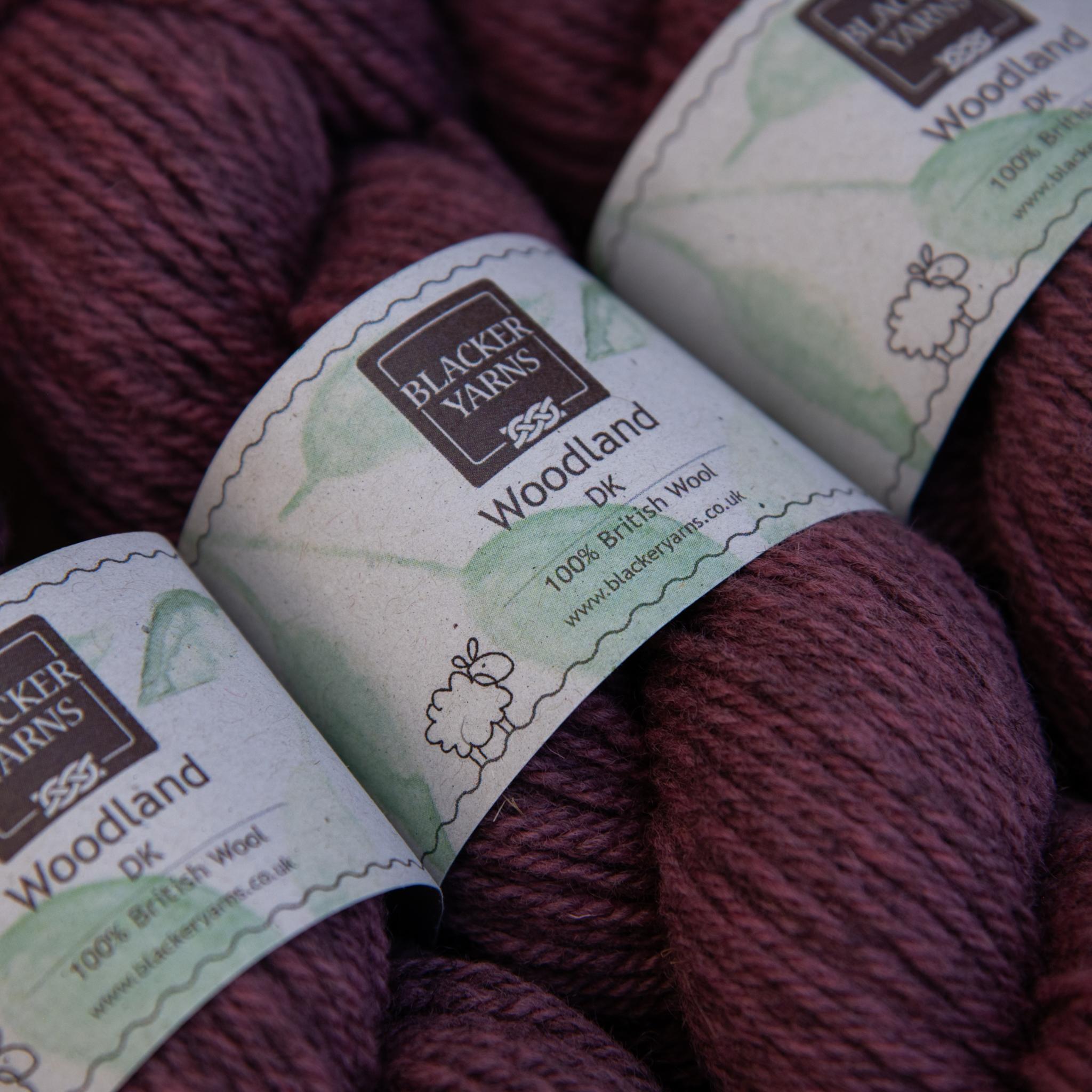 Blackeryarn Woodland DK Rose Wood - Blacker Yarns