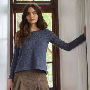 Bowmont Jumper Free Pattern
