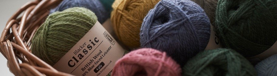 Classic British Yarns by Blacker Yarns
