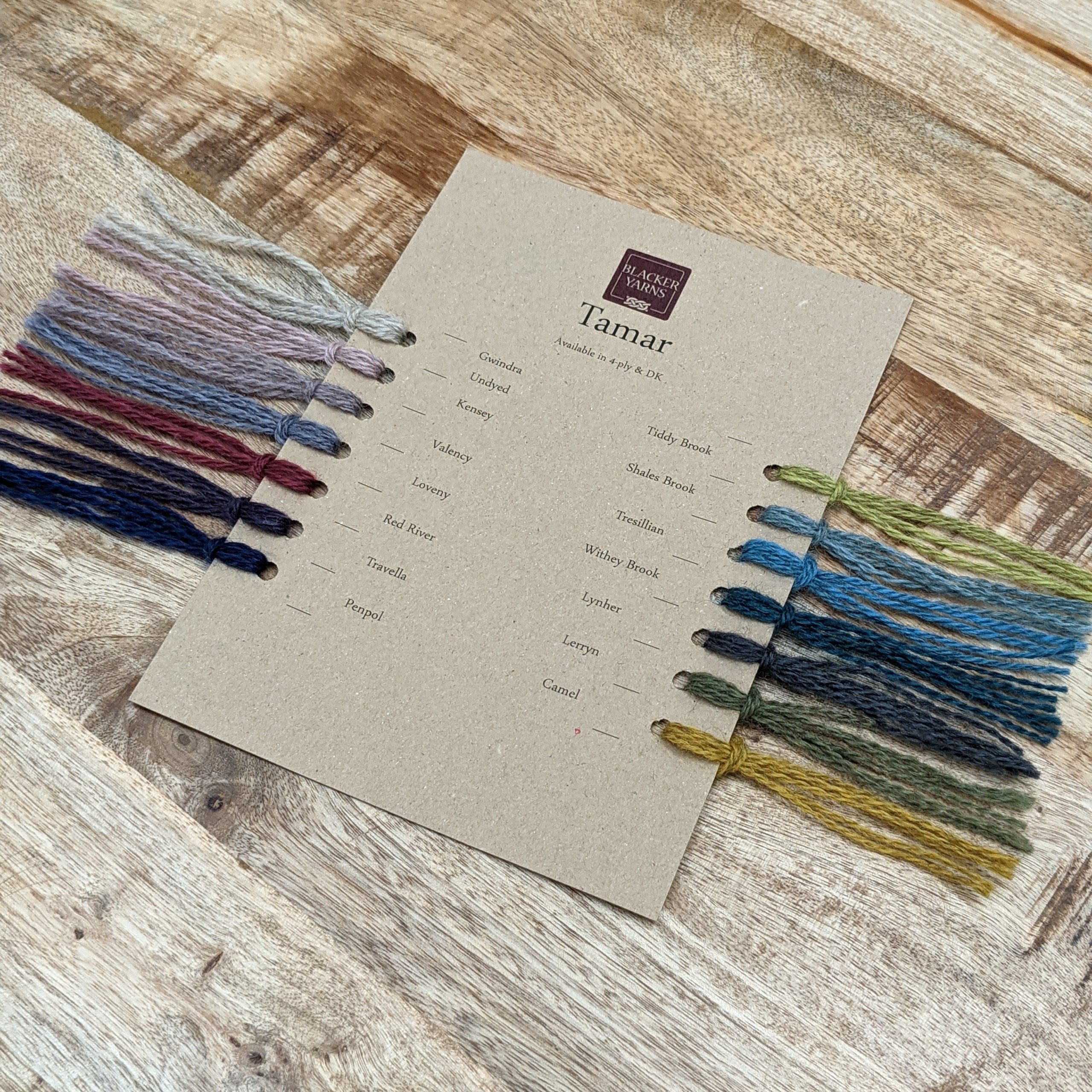 Colour Card 1 scaled - Blacker Yarns