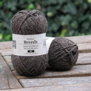 Coloured Ryeland DK - Blacker Yarns