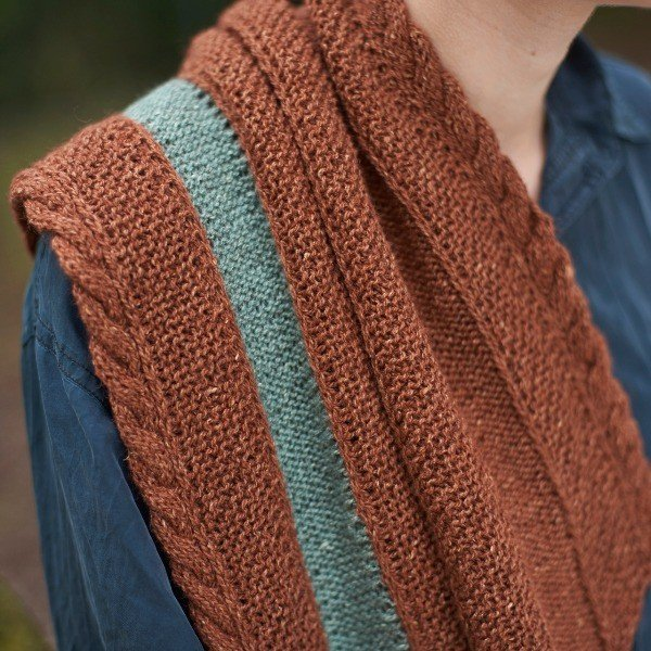 Coppersmith Scarf Alt Colour - Blacker Yarns