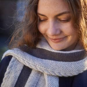 Coppersmith Scarf Free Pattern