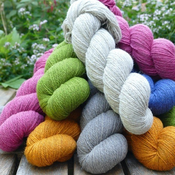 Cornish Garden 3 ply Group - Blacker Yarns