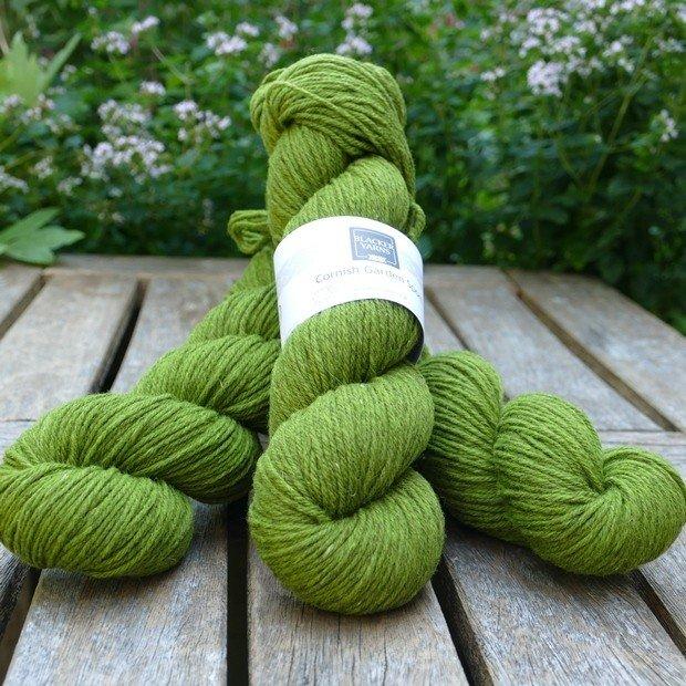 Cornish Garden dyed Heligan green Sport yarn