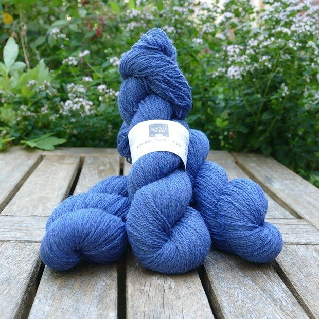 Cornish Garden dyed Trebah 3-ply yarn