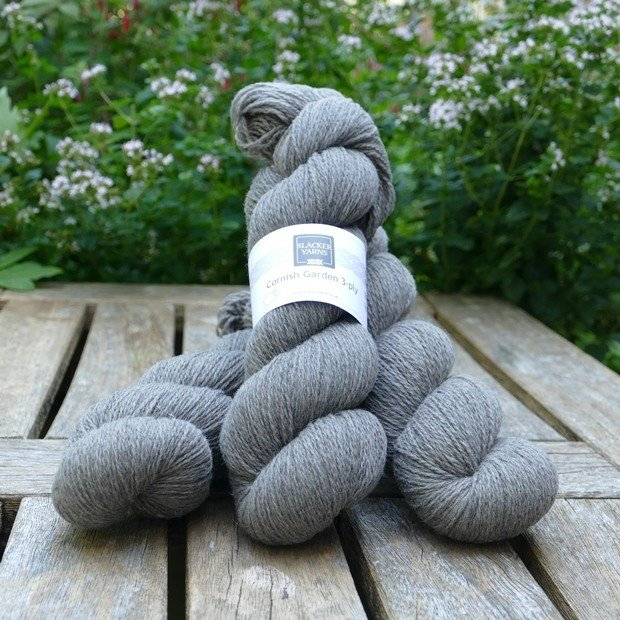 Cornish Garden dyed Tremenheere 3-ply yarn