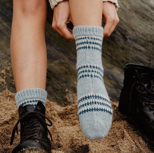 Cove Minack Socks Kit - Blacker Yarns