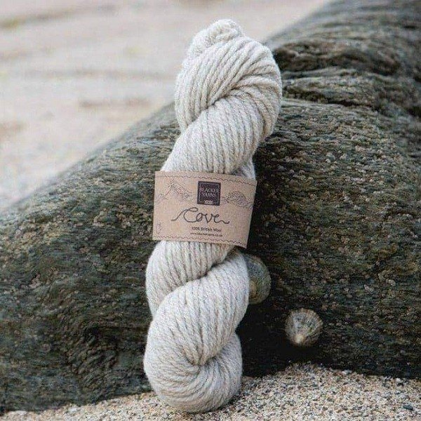 Cove natural sand Treth Chunky knitting yarn