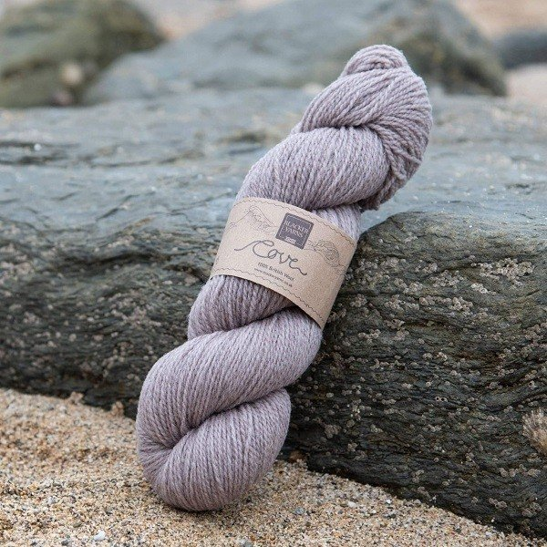 Cove over-dyed Kelester Dusty pink 4-ply knitting yarn