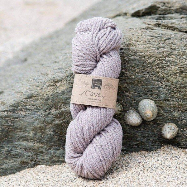 Cove over-dyed Kelester dusty pink Chunky knitting yarn