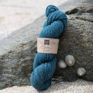Cove over-dyed Mordon pale turquoise Chunky knitting yarn