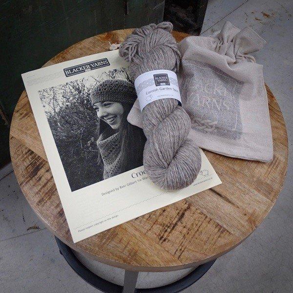 Crochet pull on hat Project Kit2 - Blacker Yarns