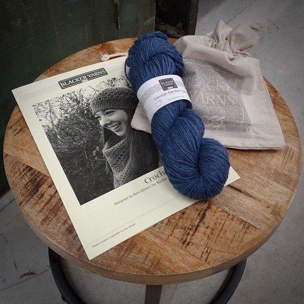 Crochet pull on hat Project Kit3 - Blacker Yarns