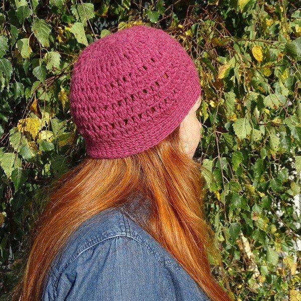 Crochet pull on hat Project Kit6 - Blacker Yarns