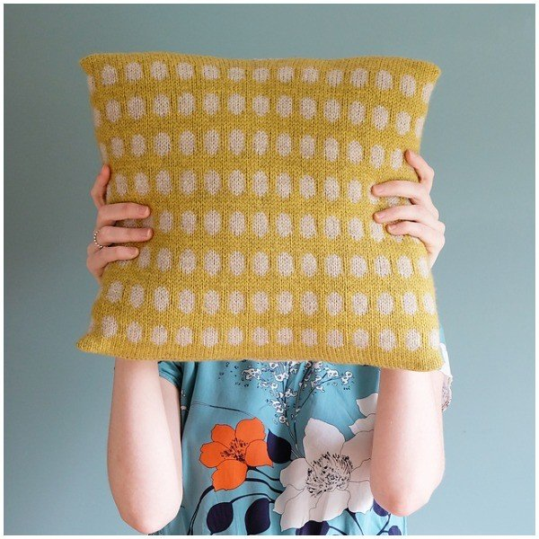 Cushy Pillow by CW2 - Blacker Yarns