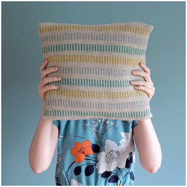 Cushy Pillow by CW3 - Blacker Yarns