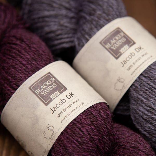 DK Purple 4 - Blacker Yarns