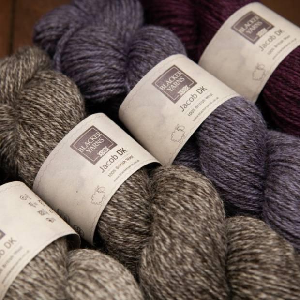 DK Purple2 - Blacker Yarns