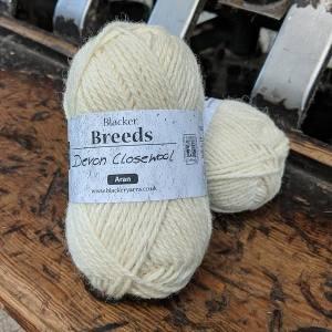 Devon Closewool Aran Yarn