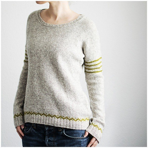 Docks Pullover by Trin Annelie - Blacker Yarns