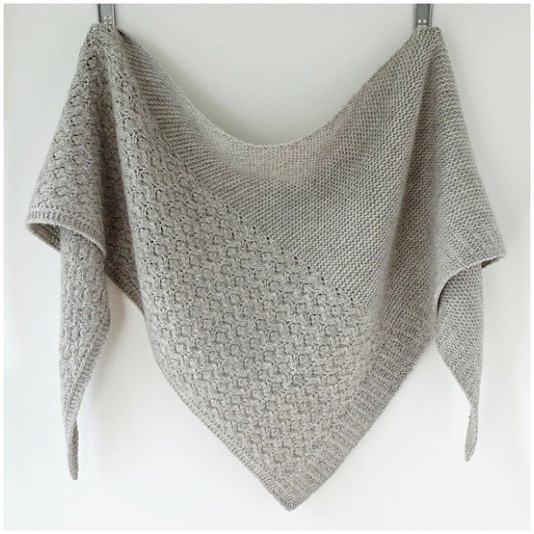 Dohne Shawl by Gretha Mensen - Blacker Yarns