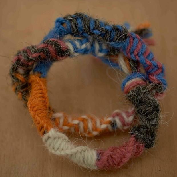 Garden Twine Bracelet - Blacker Yarns