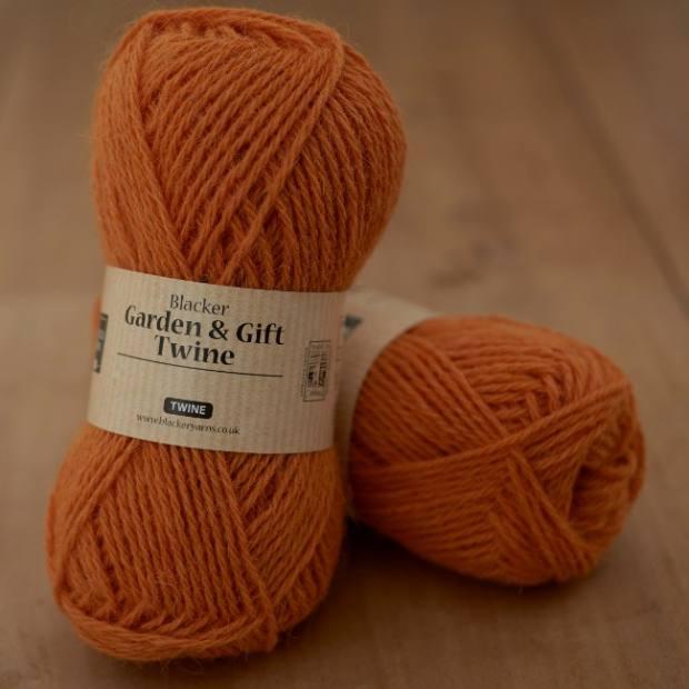 Garden and Gift Twine Orange - Blacker Yarns