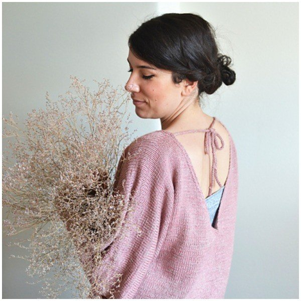 Ginkgo Pullover by Melody Hoffmann - Blacker Yarns