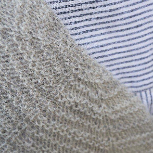 Gwindra Shawl Close Up 3 - Blacker Yarns