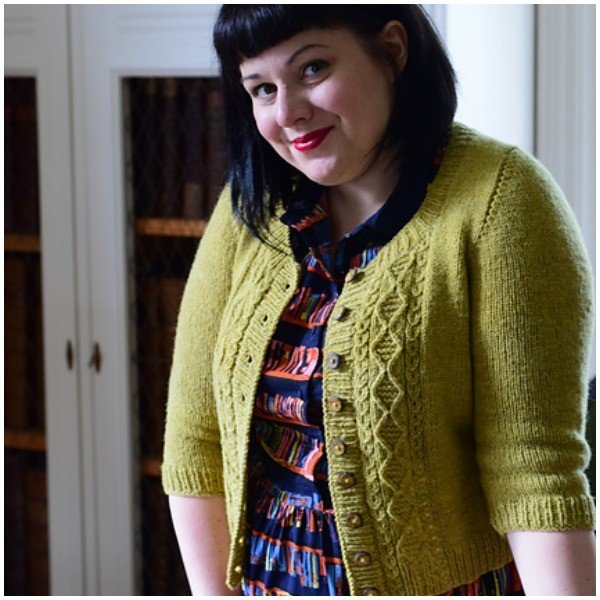 Incunabula Cardigan by Karie Westermann - Blacker Yarns