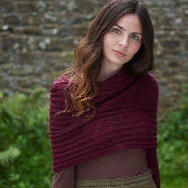 Iridea Wrap Pattern - Blacker Yarns