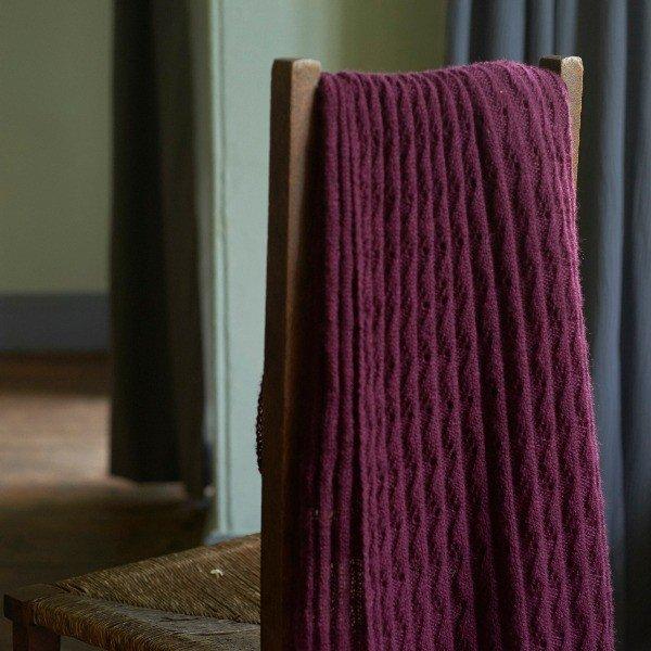 Iridea Wrap laceweight pattern - Blacker Yarns